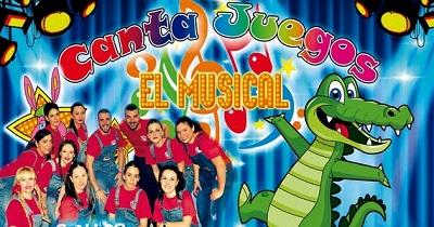 CANTA JUEGOS en BARCELONA ,el Musical